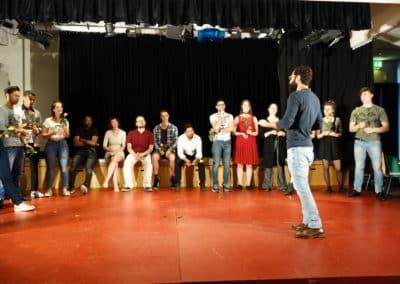 """Integrationsprojekt """"Der Geschmack von Sprache"""" - künstlerischer Abschluss im Mai 2018"""