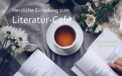 Einladung zum Literatur-Café am 30.08.2018 ab 17.00 Uhr