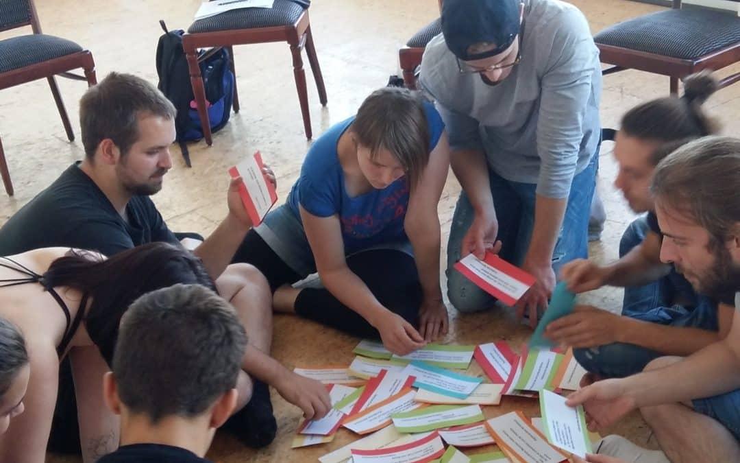 """Neue Staffel """"Der Geschmack von Sprache"""" – Vorbereitung der Schauspielschüler"""