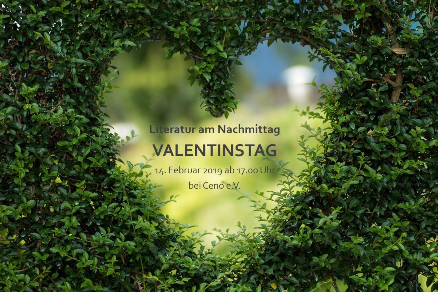 Literatur am Nachmittag - VALENTINSTAG -