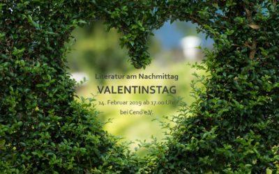 """Einladung zur """"Literatur am Nachmittag"""" am Valentinstag"""