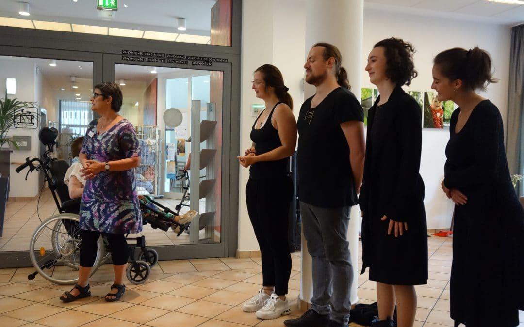 Theater vor Ort – Balladen mit Sahnehaube