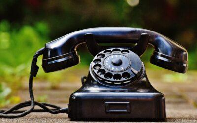 Ein offenes Ohr am Telefon