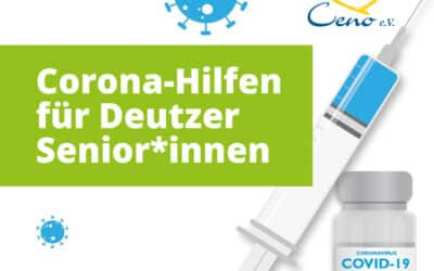 Corona-Hilfen für Deutzer Senior*innen: Impfpatenschaften, Einkaufshilfen, Telefongespräche