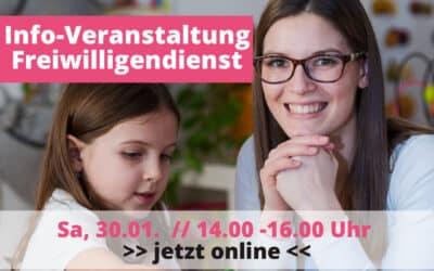 Freiwilligendienste in Köln: Einladung zum Info-Nachmittag mit Erfahrungsberichten