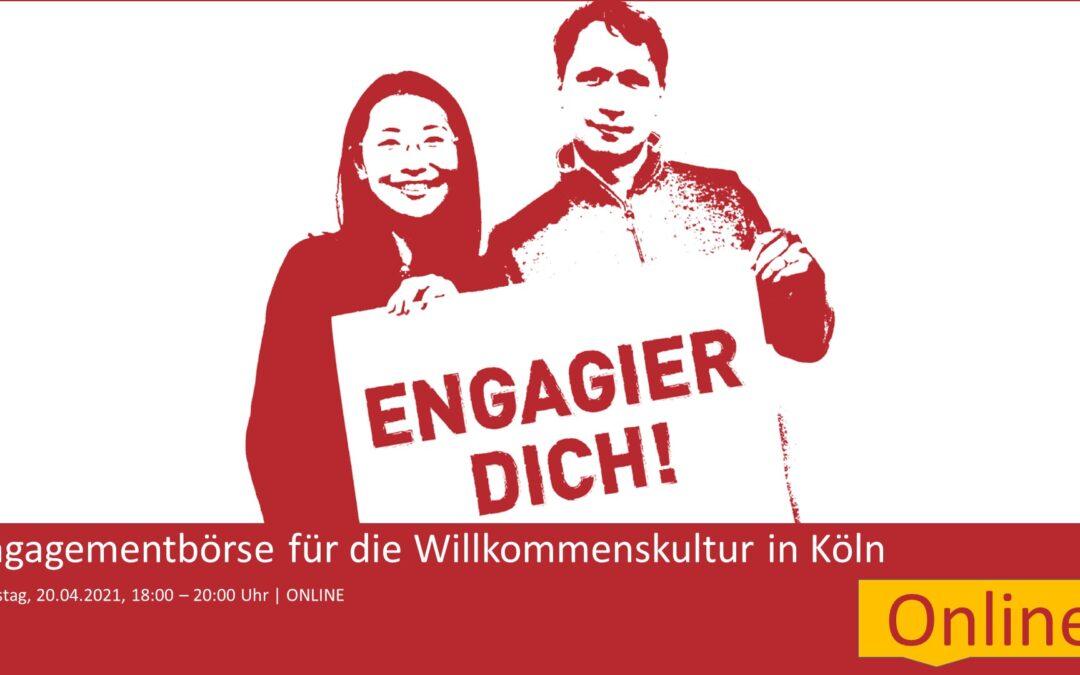 "Einladung zur Engagement-Börse ""Engagier dich!"" am 20. April 2021"