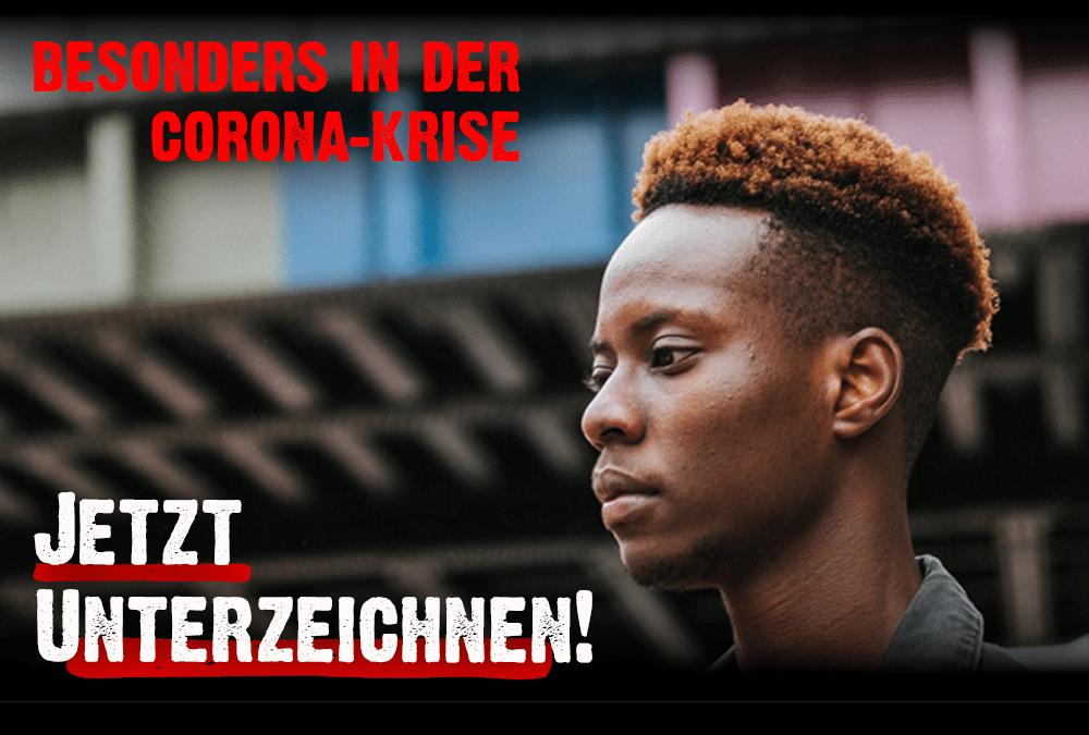 """Corona trifft Arme besonders hart – Soforthilfen jetzt!"""