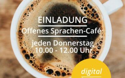Einladung zum Sprachen-Café